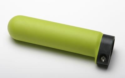 Zelená gumenná hladká rúčka